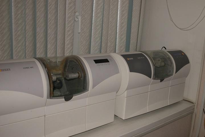 Шлифовальный аппарат Cerec MC XL